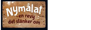 """Logo för revyn """"Nymålat"""""""