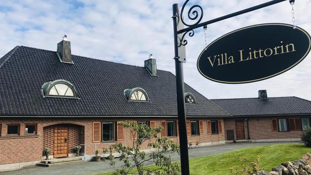 Exteriör av Villa Littorin