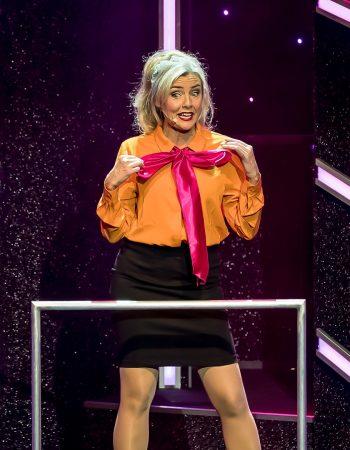 Anna Carlsson på scen